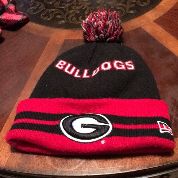Georgia Bulldogs knit hat. M 5b799ee11b16db8c6ba3287e 5a52640b43d